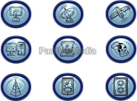 illustration website ikone kommerz veranschaulichung computer