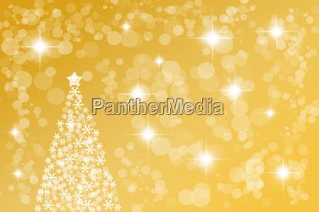 goldene abstrakte weihnachten hintergrund
