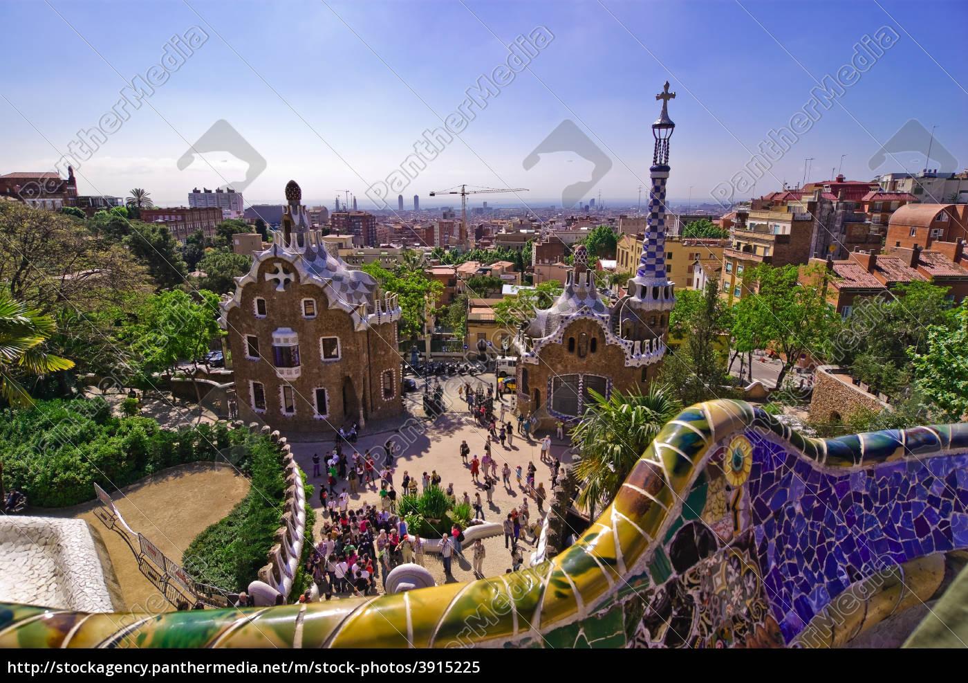 ansichten, aus, barcelona - 3915225