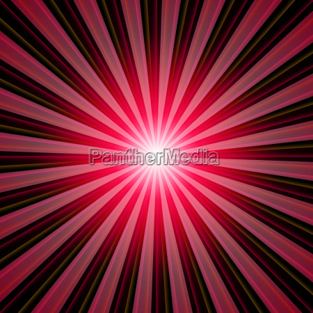 background rays of light red