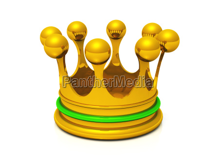 krone gold gruen
