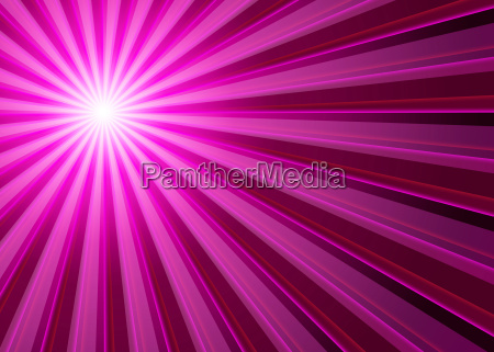 background rays of light pink