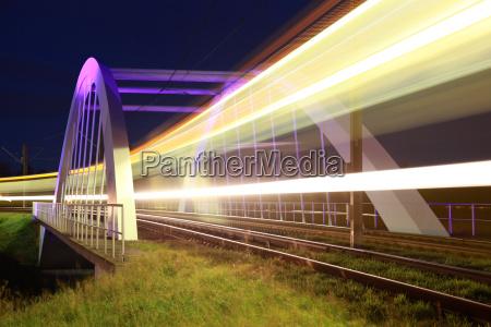 bridge for light rail in ostfildern