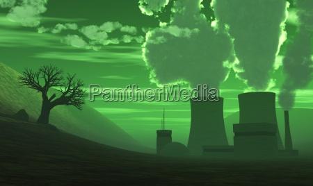 kernkraftwerk der super gau gruen
