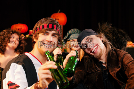 party for carnival or halloween