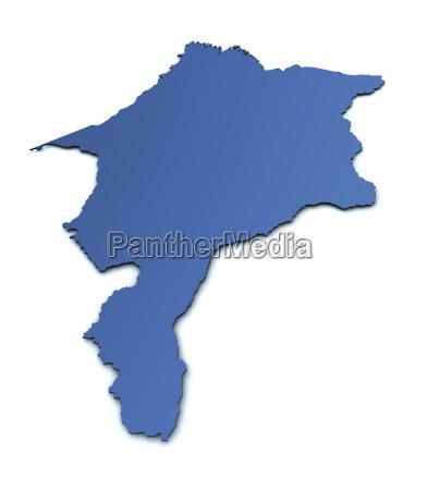 map of maranhao brazil