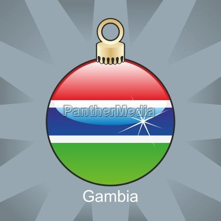 afrika illustration weihnachtszeit christmas ikone gambia
