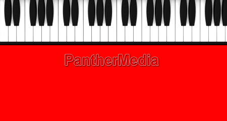 piano background red 03