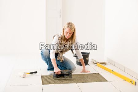 home improvement renovierung handywoman verlegung