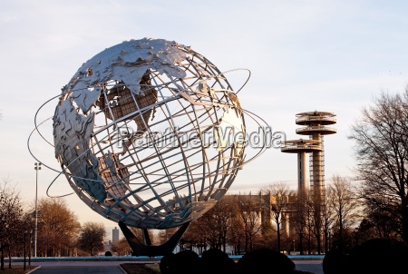 unisphere globus queens new york city