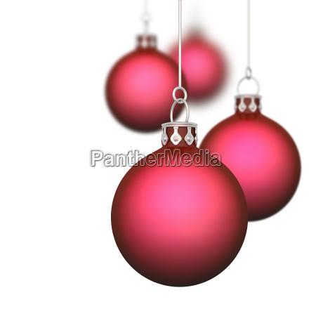 weihnachtskugeln hintergrund 11 rot