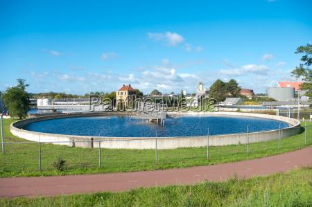 abwasserbehandlung bassin