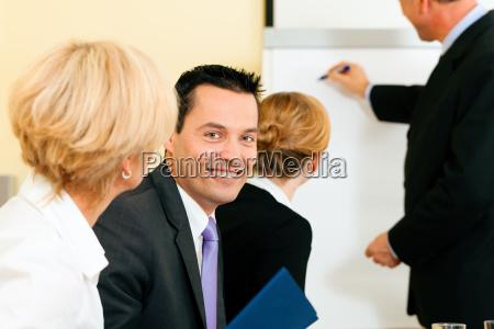 business praesentation im meeting