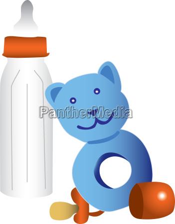 baby saeugling flasche dinge sachen artikel