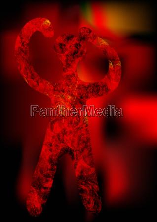 fiery demon