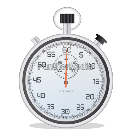image of a stopwatch isolated on