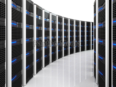 3d computer server fuer rechenzentren