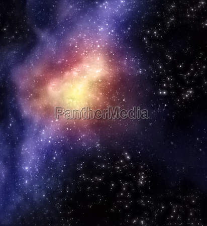 starry background of stars and