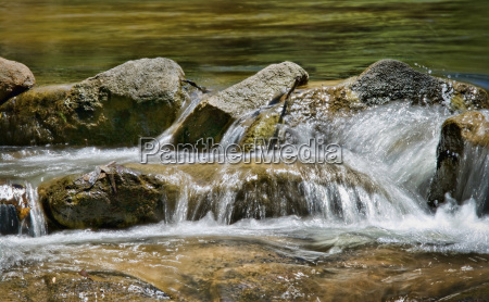 great image of water on rocks