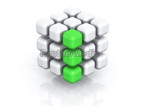 quader gruene reihe