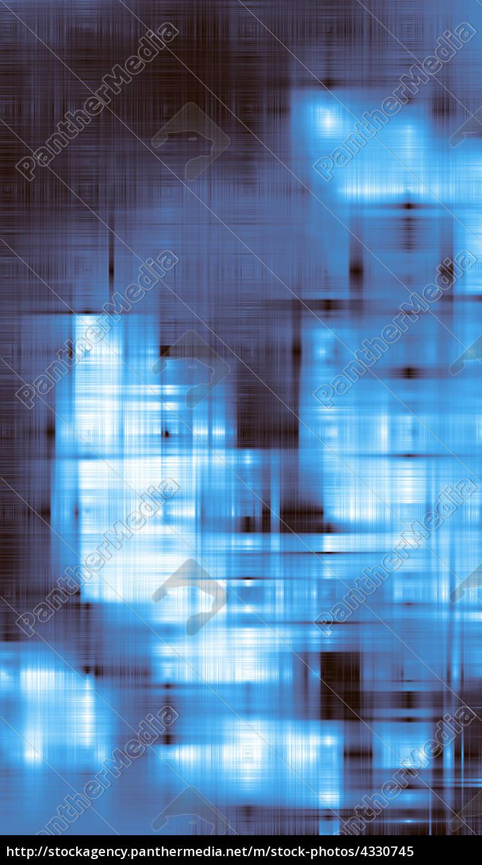 Hintergrund Abstrakte Wischtechnik Blau 01 Lizenzfreies Bild