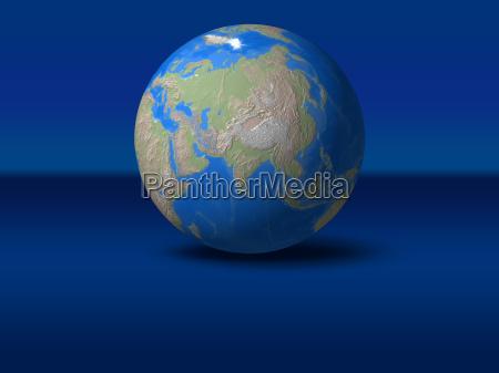 space asien indonesien indien weltraum globus