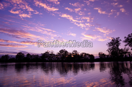 river murray sunset