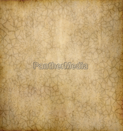 old floral paper background