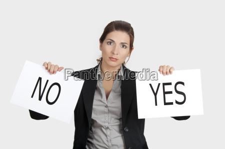 ja oder keine wahl