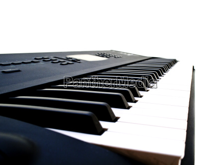 schwarze und weisse klavierschluessel