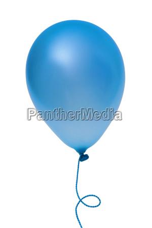 blauer ballon