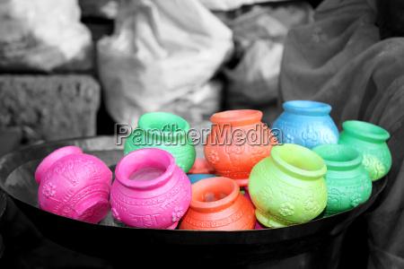 holi clay pots