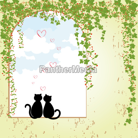 springtime cat dating