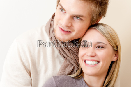 couple in love happy relax