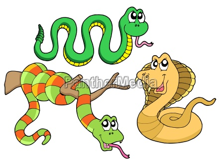 cute snakes collection