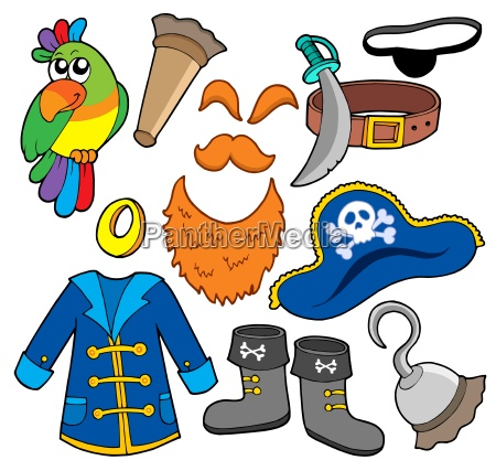 pirate clothes collection