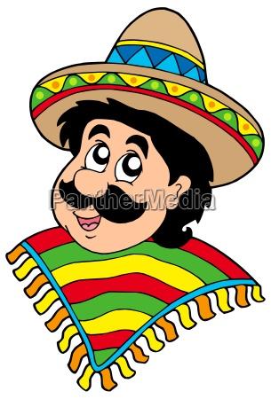 portrait of mexican man