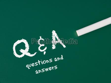 q amp a questions
