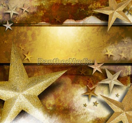 golden sparkle star hintergrund