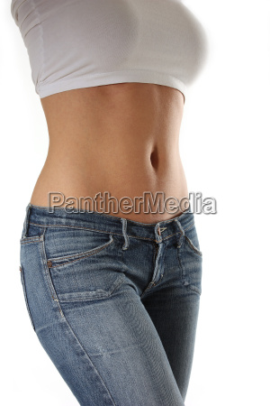 woman belly