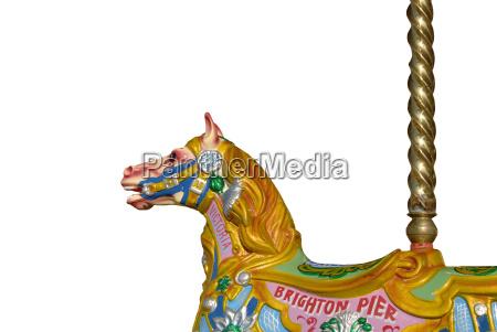 kirmes pferd brighton pier east sussex