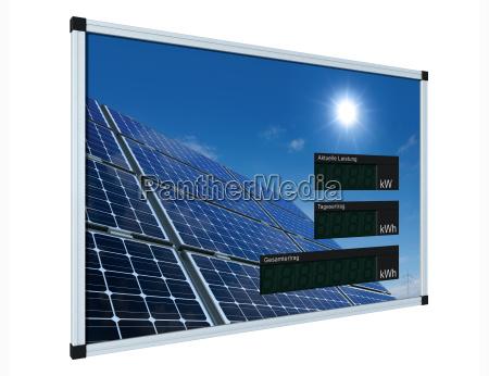 solar display german clipping path