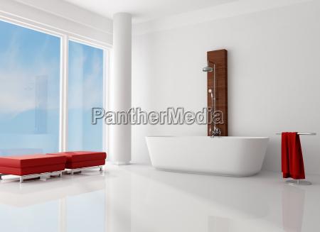 minimalistische badezimmer
