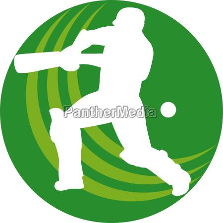 sport ball illustration spieler schlagstock fledermaus