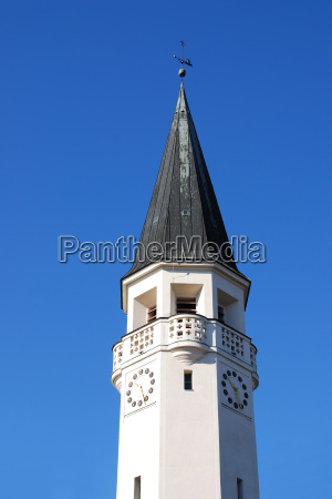 steeple of zeuthen