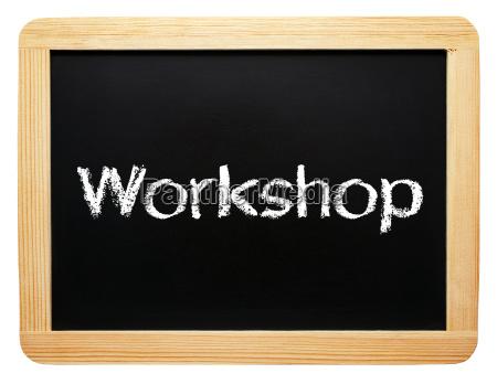 workshop konzept tafel freigestellt