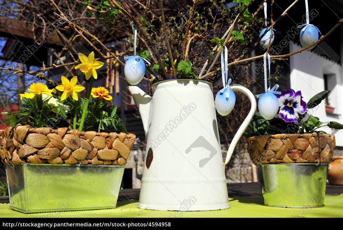 Dekoration Ostern.Stock Bild 4594958 Garten Dekoration Ostern
