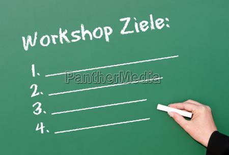 workshop ziele konzept business
