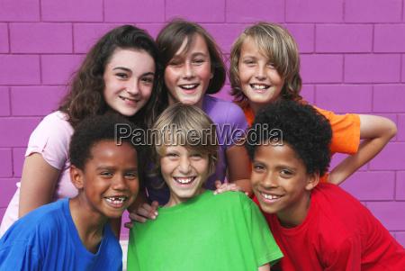 zroznicowana grupa mieszana dzieci