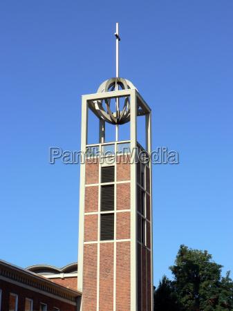 chiesa citta anseatica campanile brema evangelico